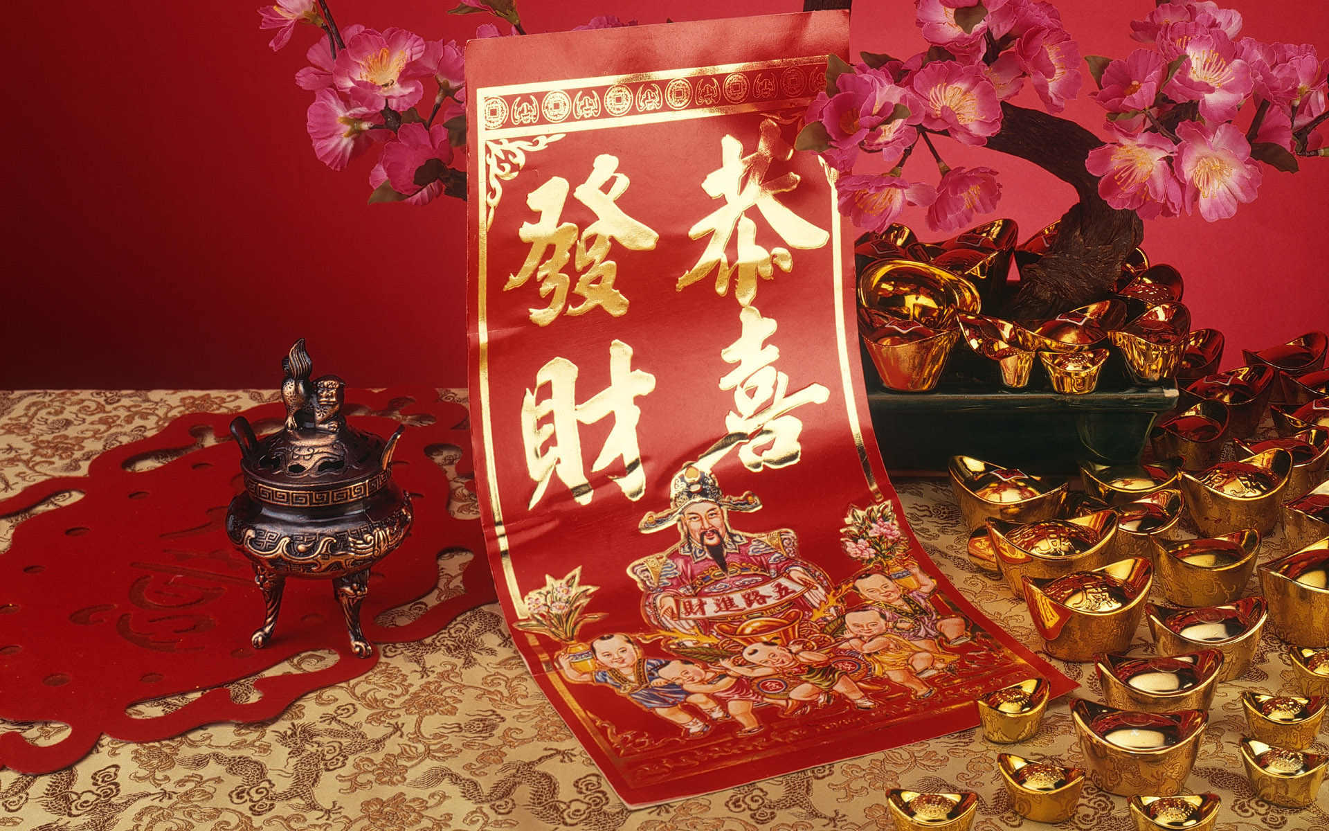 Wallpaper Chinese new year widewcreen - Chinese new year widewcreen