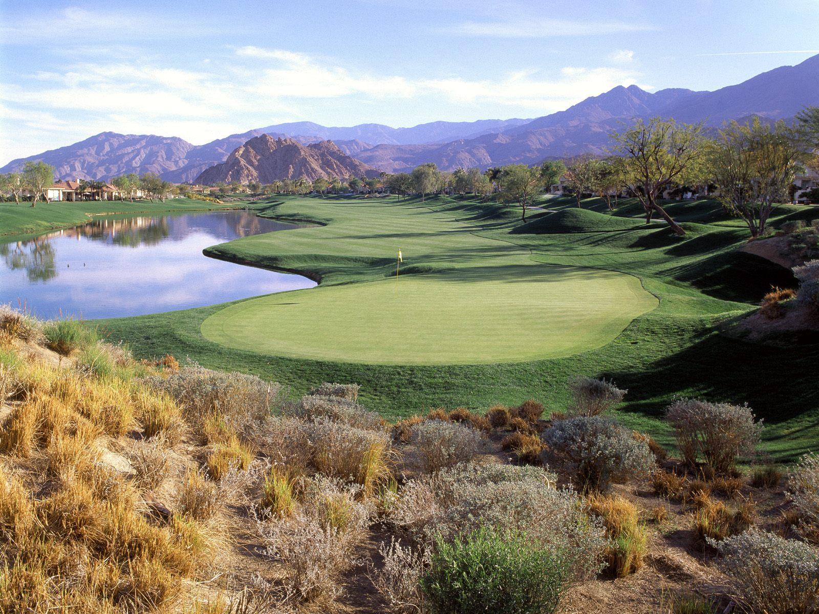 Wallpaper - Golf links