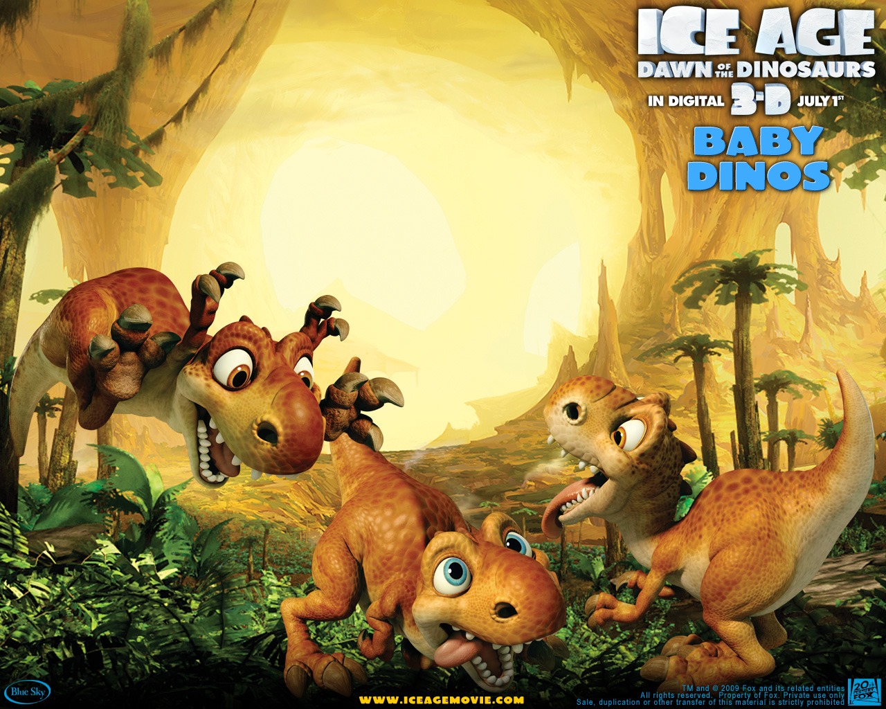 Ice Age 3 Coloring Pages
