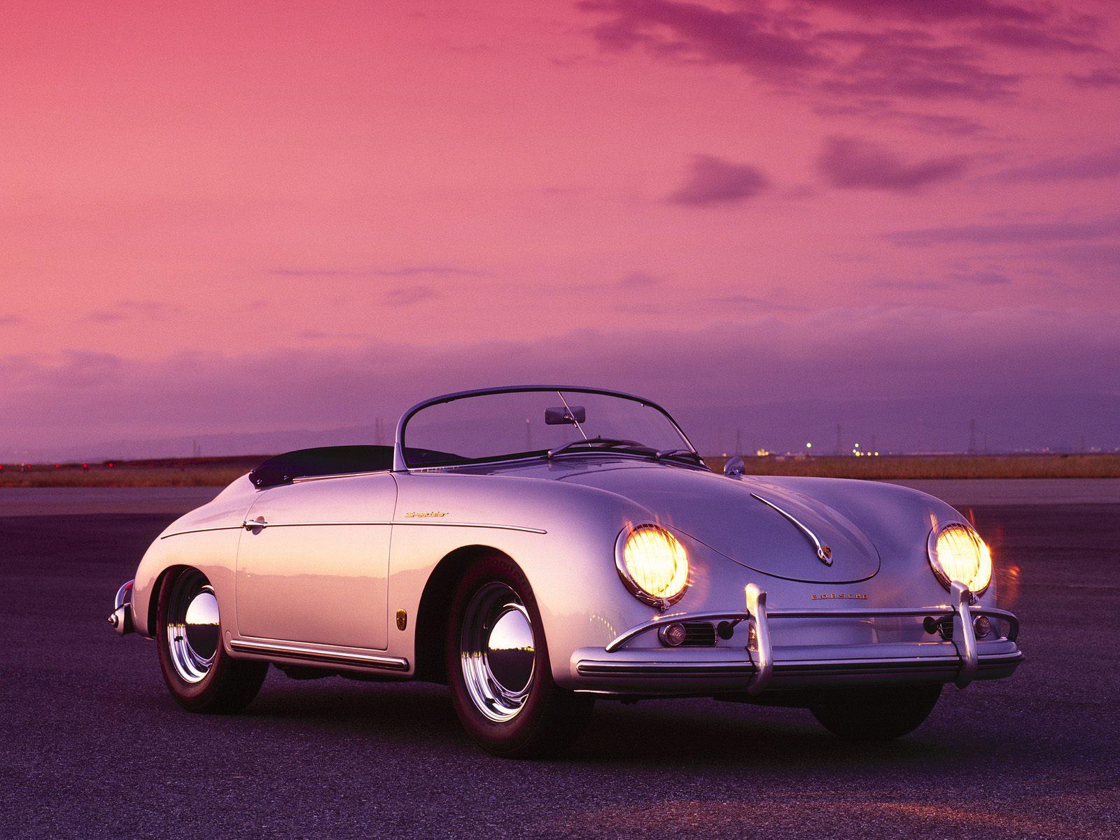Kids N Fun Com Wallpaper 1958 Porsche Speedster