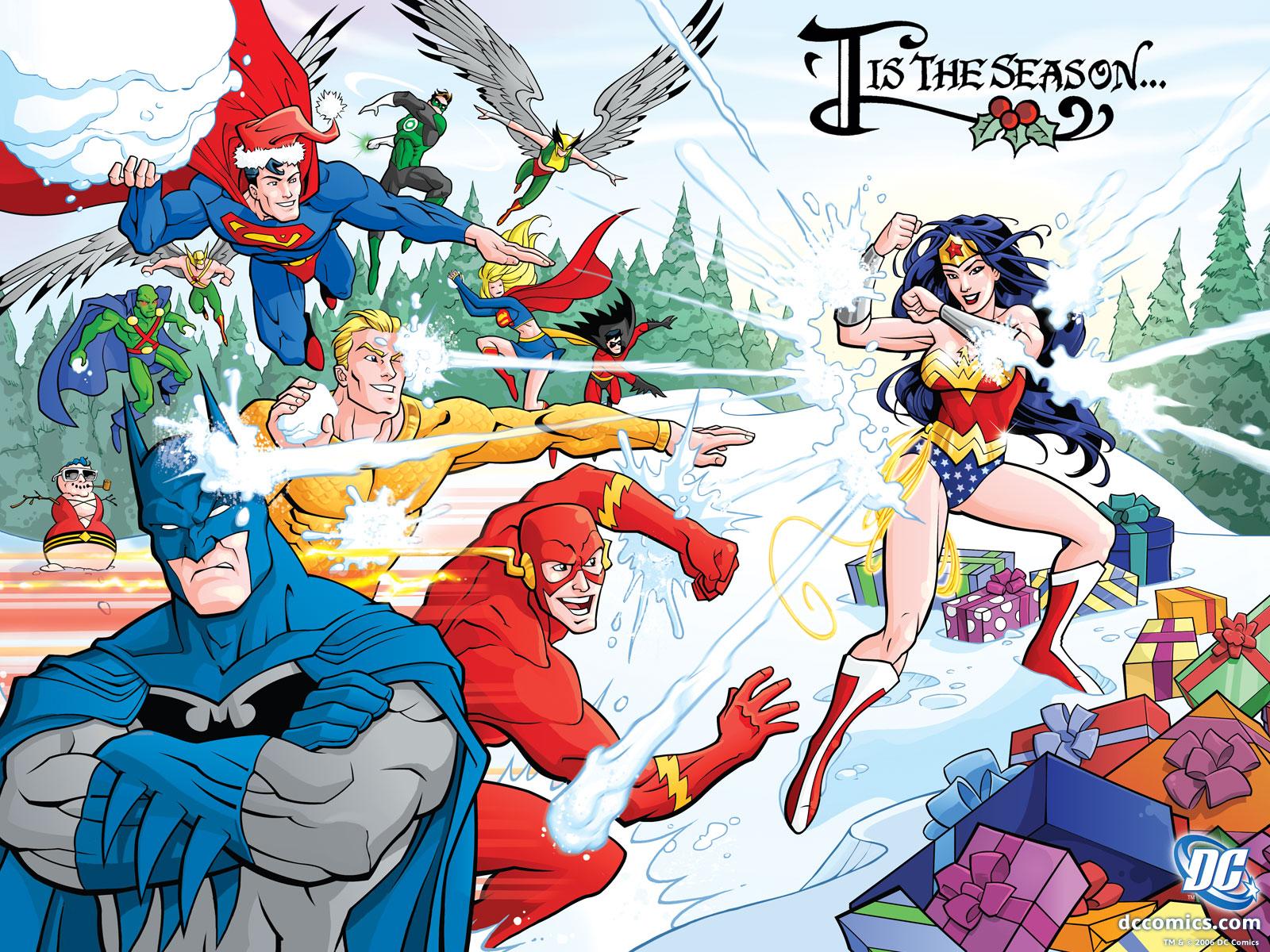 Wallpaper - Comic Book Heroes