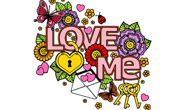 Valentine difficult coloring pages
