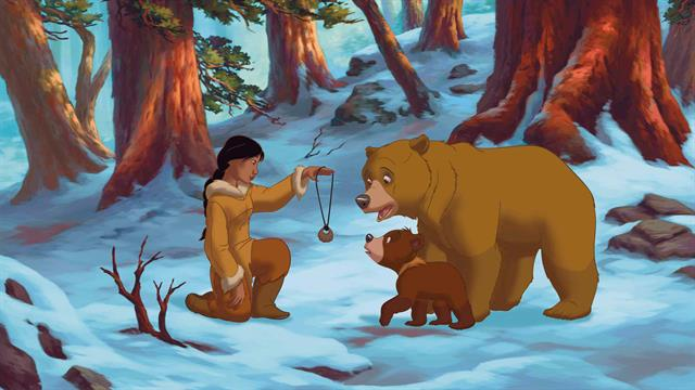 Kids-n-fun.co.uk | 52 coloring pages of Brother Bear