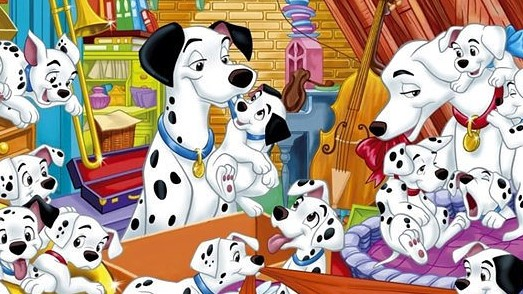 Disney Coloring Sheets For Kids: 101 Dalmatians Coloring Pages | 294x523