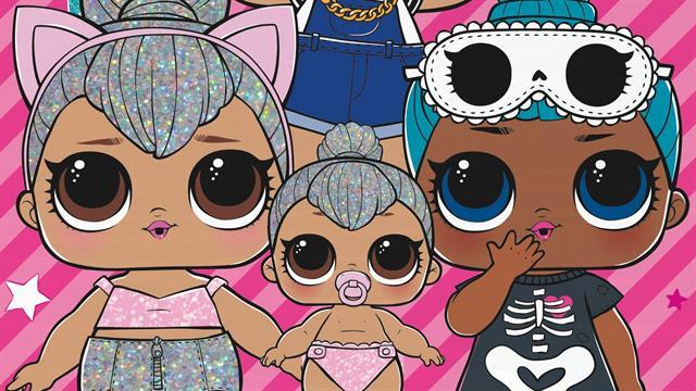 Kids N Fun Com 4 Puzzle Of L O L Surprise Dolls Find The