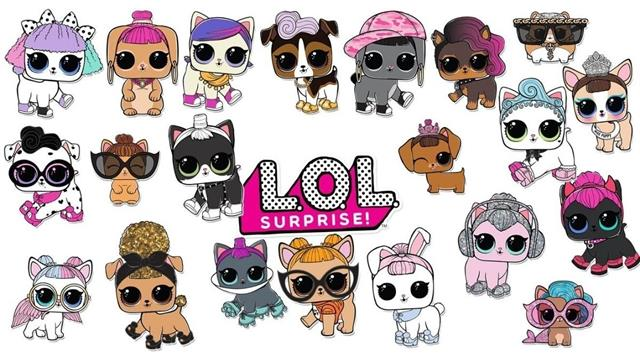 Kids N Fun Com 21 Coloring Pages Of L O L Surprise Pets