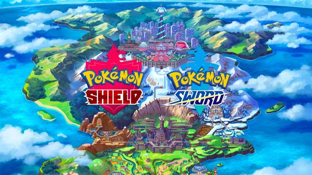 Pokemon Sword and Shield coloring pages