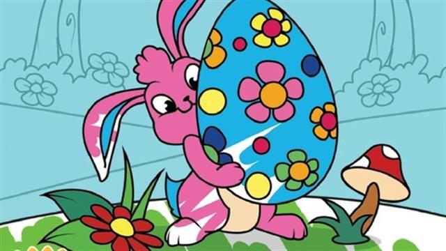 Easter coloring book