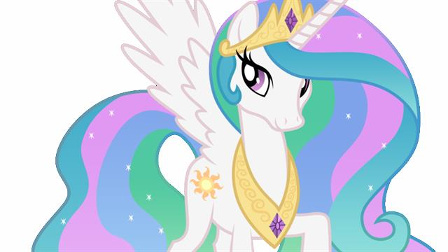 Princess Celestia My Little Pony coloring pages
