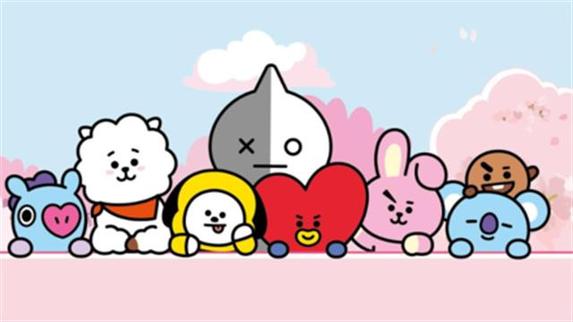 BT21 coloring pages