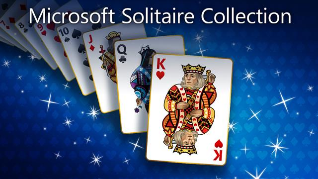 Microsoft Solitaire game