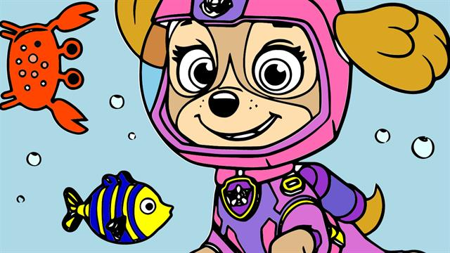 Paw Patrol Sea Patrol coloring pages