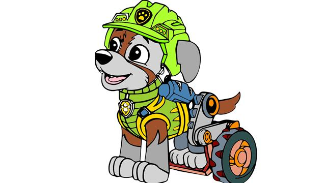 Paw Patrol Dino Rescue coloring pages