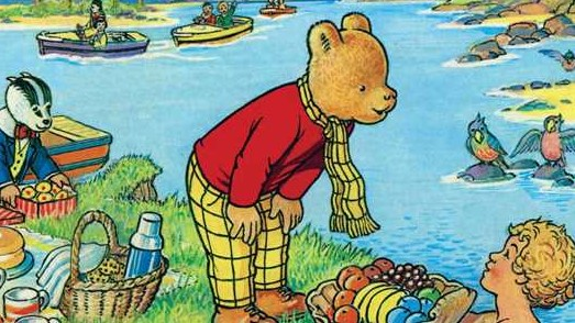 Kids-n-fun.co.uk | 28 coloring pages of Rupert Bear