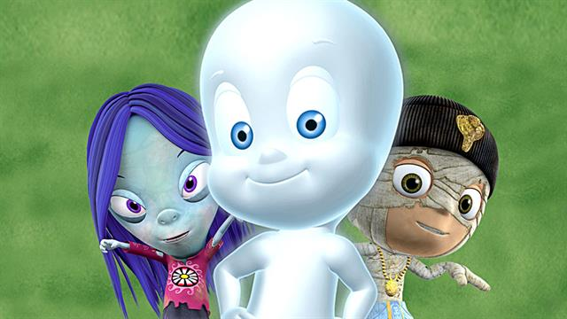 Kids N Fun Com 24 Coloring Pages Of Casper The Friendly Ghost