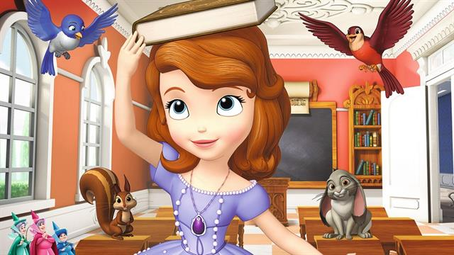 Coloring Pages Disney Sofia : Kids n fun coloring pages of sofia the first