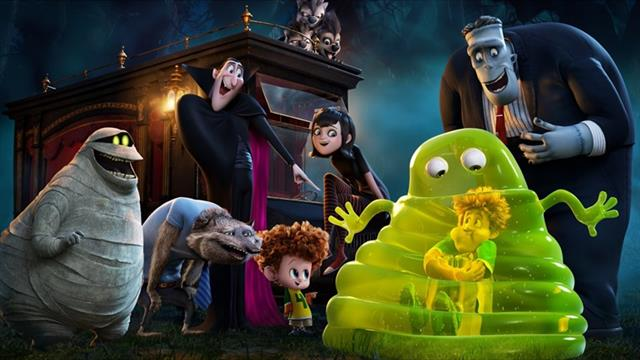 8 Coloring Pages Of Hotel Transylvania 2