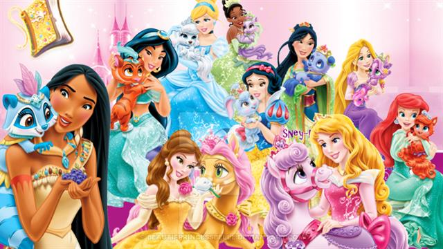 Kids N Fun Com 36 Coloring Pages Of Princess Palace Pets