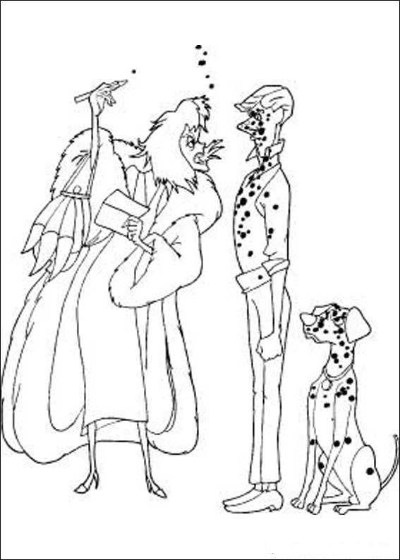 kids n funcom 77 coloring pages of 101 dalmatians