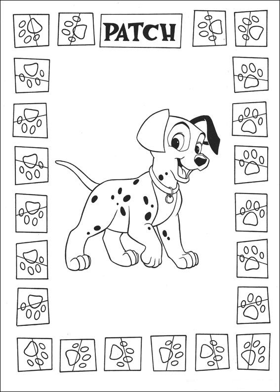 Coloring Pages Kids N Fun : Kids n fun coloring page dalmatians