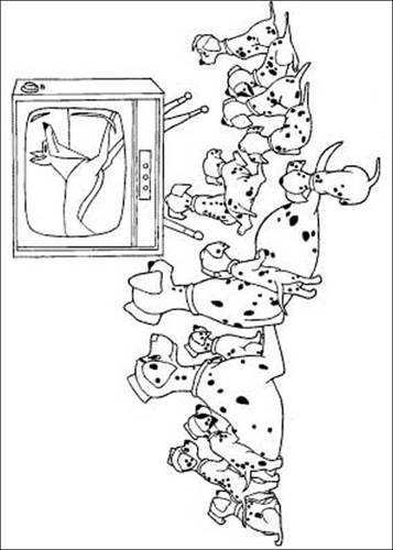 Kids N Fun Com 77 Coloring Pages Of 101 Dalmatians