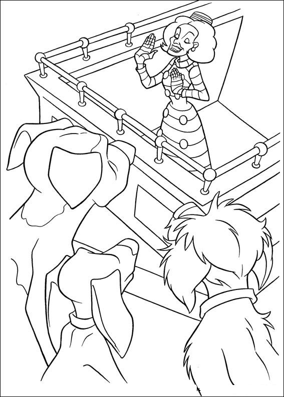 102 Dalmations 46 Coloring Pages