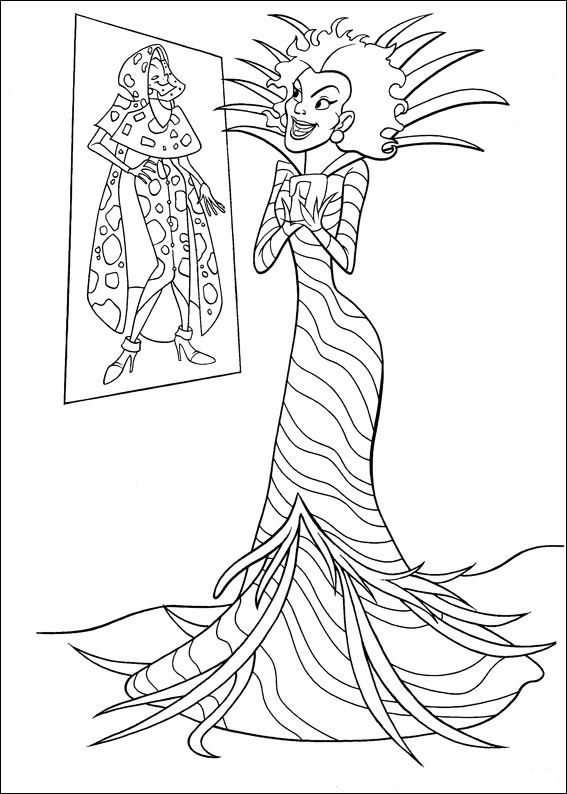 Kids-n-fun.co.uk | 46 coloring pages of 102 Dalmations