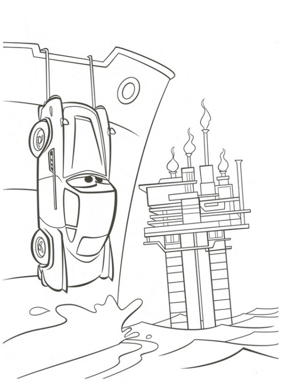 Kids n fun.co.uk | 38 coloring pages of Cars 2
