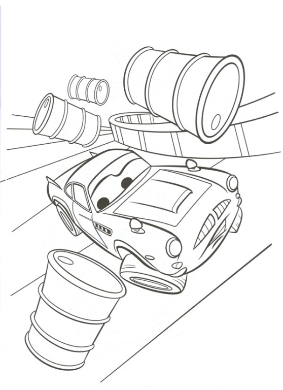 kids n 38 coloring pages of cars 2