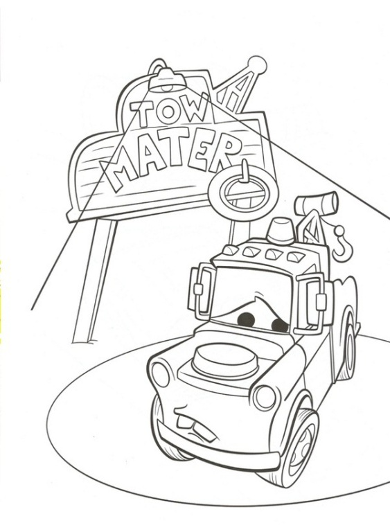 Kids-n-fun.com   38 coloring pages of Cars 2