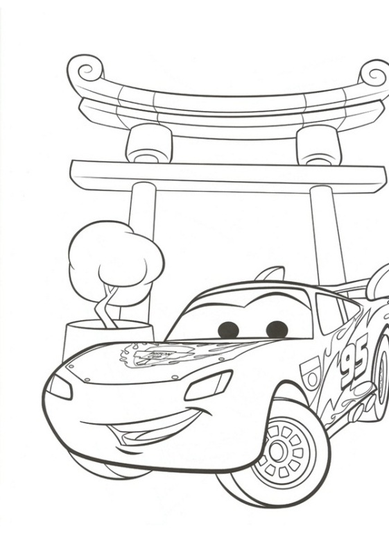 cars 2 - Coloring Pages Car 2