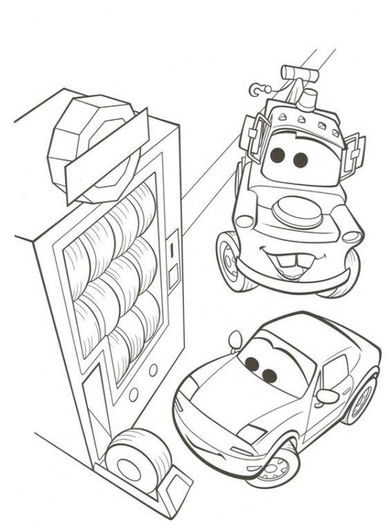 38 cars 2 coloring pages - Childrens Colouring Pictures 2