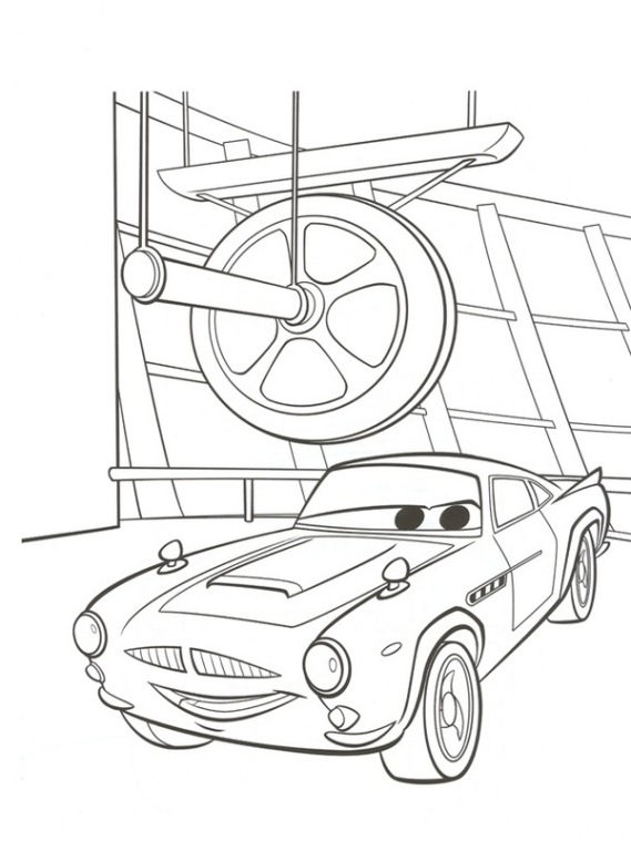 n 38 coloring pages of cars 2
