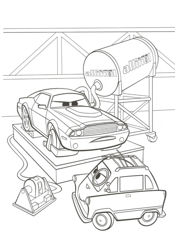 cars 2 printable coloring pages - photo#17