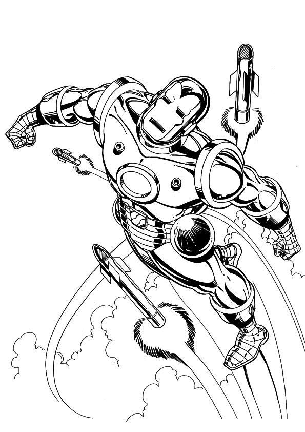 n 60 coloring pages of iron