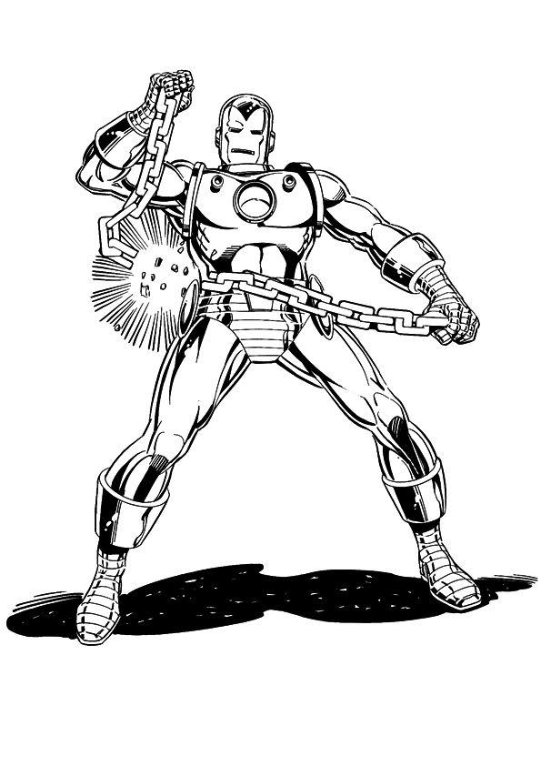 Elegant 20 Ausmalbilder Lego Iron Man: 60 Coloring Pages Of Iron Man