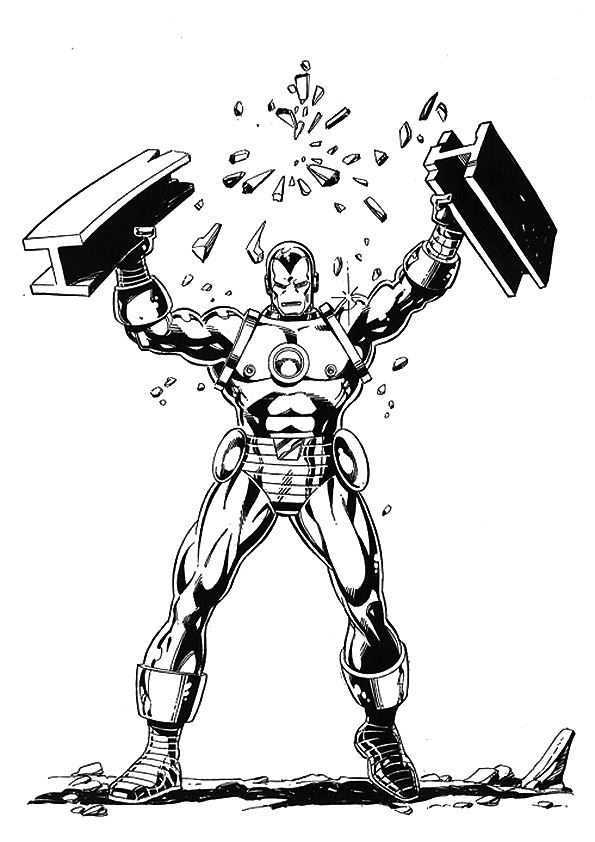 kids n funcom 60 coloring pages of iron man - Iron Man Patriot Coloring Pages