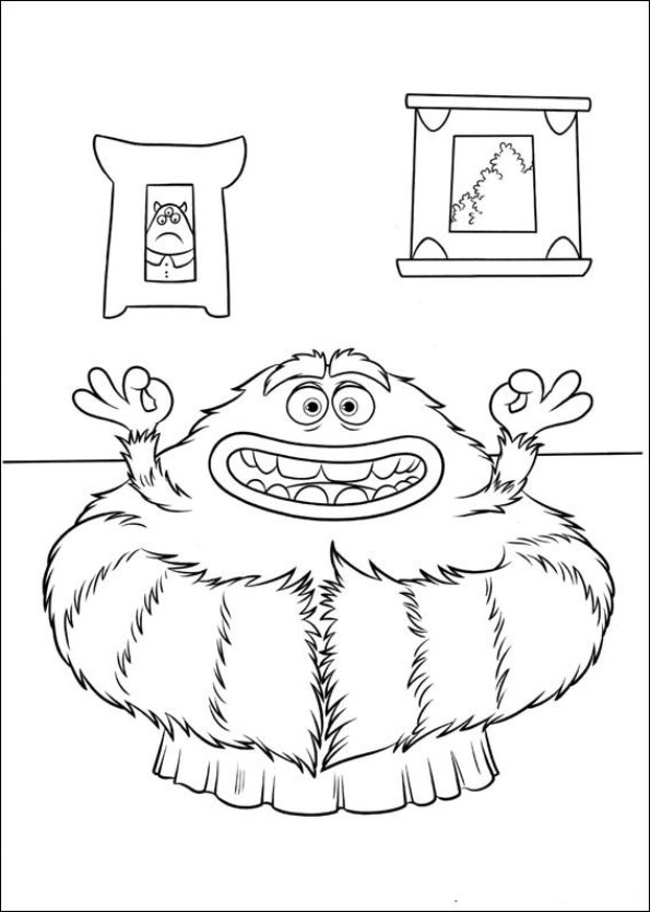 kids n funcom 45 coloring pages of monsters university - Monster Pictures For Kids To Print