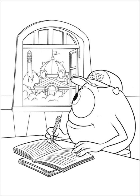 Kids-n-fun.co.uk | 45 coloring pages of Monsters University