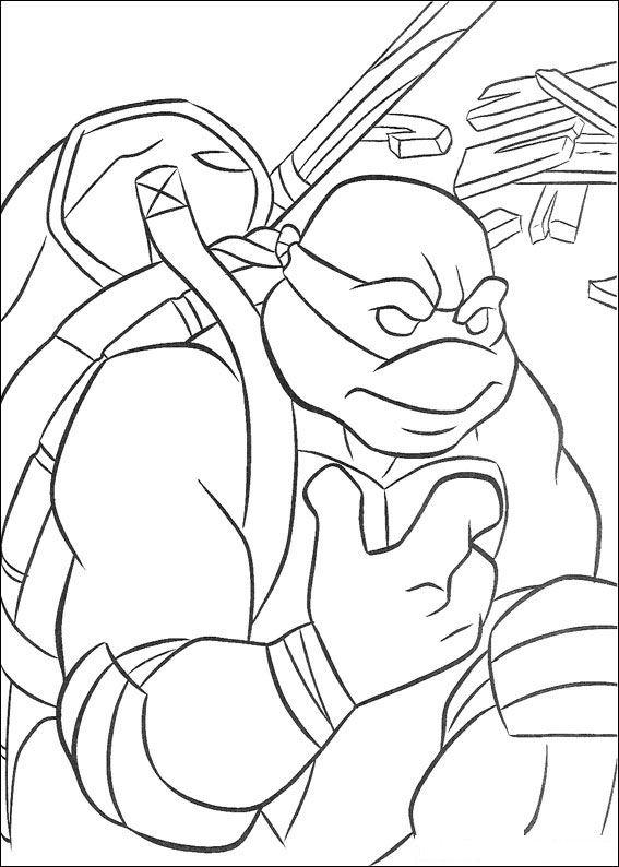 Kids-n-fun.co.uk | Coloring page Ninja Turtles Ninja Turtles