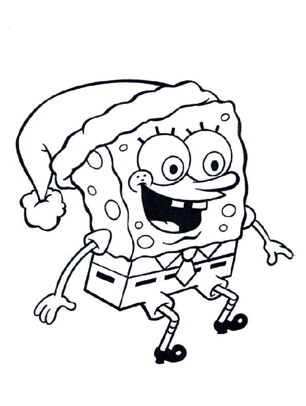 sqarepants coloring pages - photo#6
