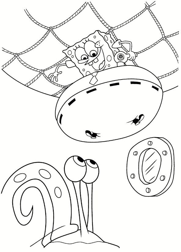 Kids N Fun Com 39 Coloring Pages Of Spongebob Squarepants