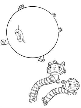 Kids-n-fun.com   12 coloring pages of Abby Hatcher