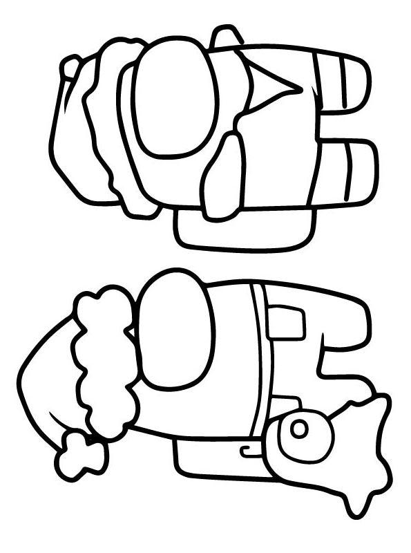 kids-n-fun | coloring page among us among us 09