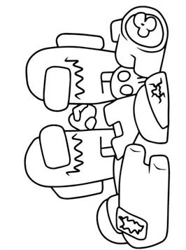 Kids N Fun Com 41 Coloring Pages Of Among Us