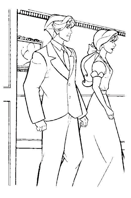 Kids N Fun Com 44 Coloring Pages Of Anastasia