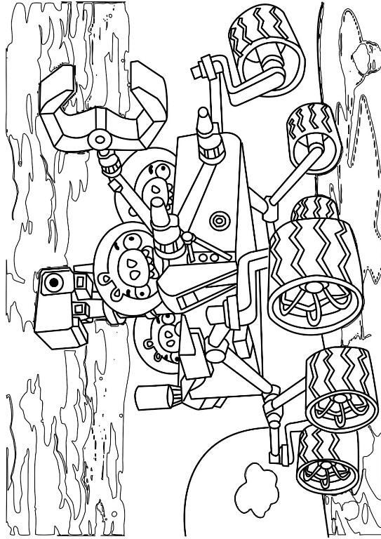 Kleurplaten Angry Birds Space.Kids N Fun Co Uk Coloring Page Angry Bird Space Angry Birds Space 2
