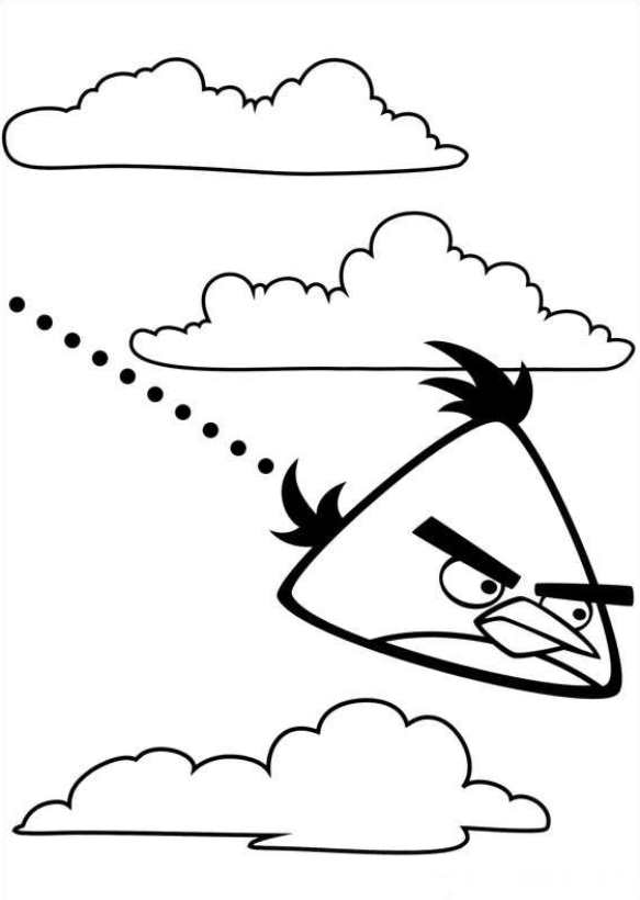 Kids-n-fun.co.uk   42 coloring pages of Angry Birds