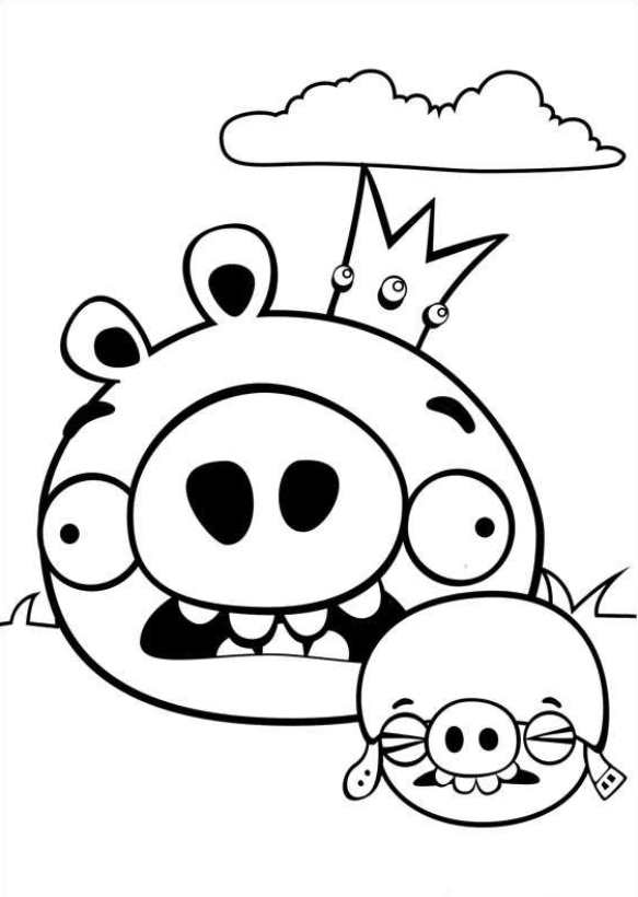 Kids-n-fun.com | 42 coloring pages of Angry Birds