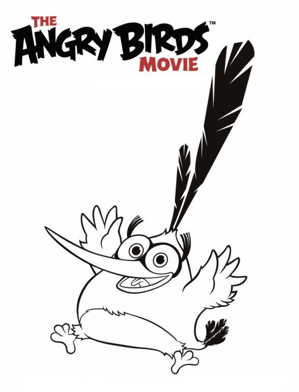 Kids-n-fun.com | 6 coloring pages of Angry Birds Movie